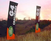 Double Tension Flags (Medium) bei Land Rover Challenge G4